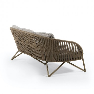 Sofá Branzo 180cm, marrón