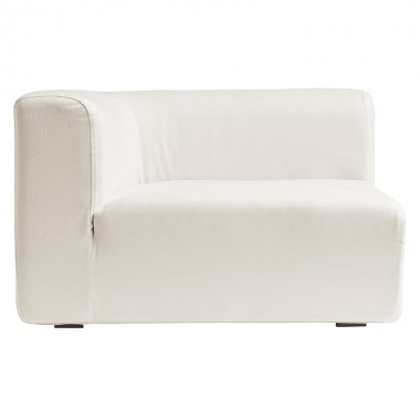 Módulo derecha curvo sofá modular