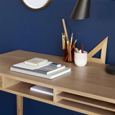 Mesa escritorio Roble 110cm