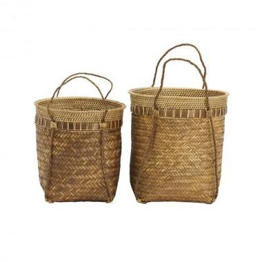 Set de dos cestos Balie
