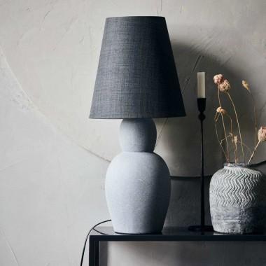 Lámpara de sobremesa Orga, gris