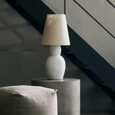 Lámpara de sobremesa Orga, arena