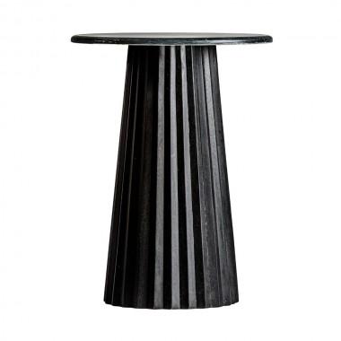 Mesa de bar Plissé, negro