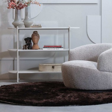 Sillón Woolly, bouclé natural