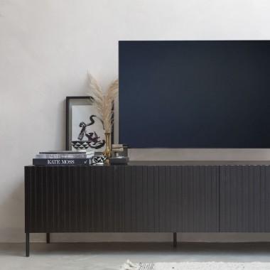 Mueble TV Gravure, negro
