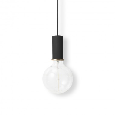 Lámpara Low, negro
