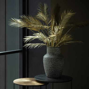Planta artificial Palmera, gold