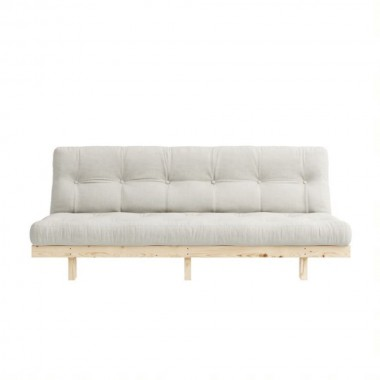 Sofá cama Lean 190cm, Natural