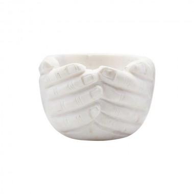 Cuenco mármol, Hands