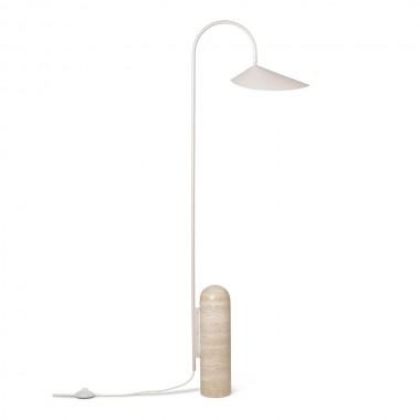 Lámpara de pie Arum Cashmere