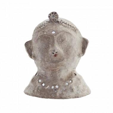Escultura busto papel maché