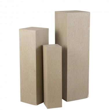 Columna Rectangulo Argile Beige M
