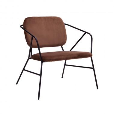 Sillón Klever, marrón