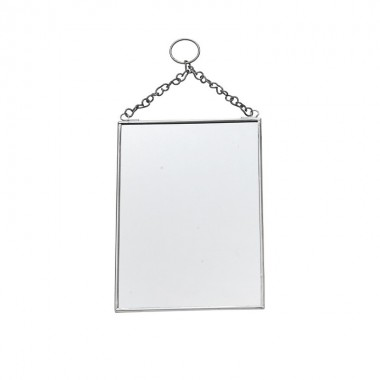 Espejo pared, Square silver
