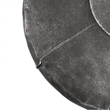 Puf leather negro
