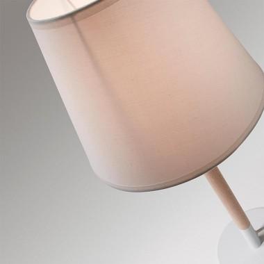 Lámpara sobremesa Moskov, blanca