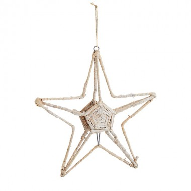 Estrella colgante, natural
