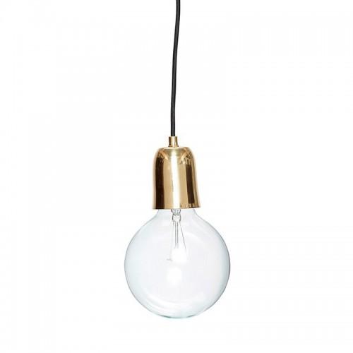 Lámpara de techo Slim, bronce