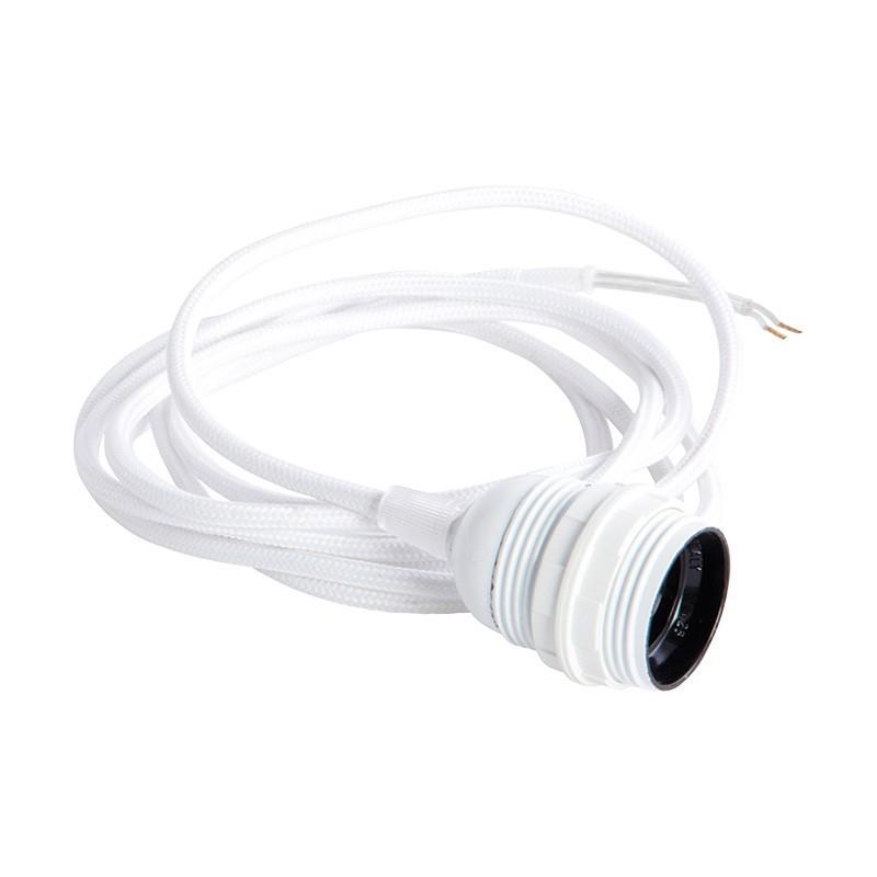 Cable de lámpara blanco