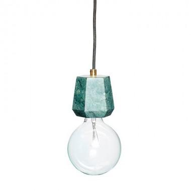 Lámpara de techo Olden, verde
