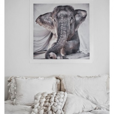 "Photo art ""Elephant Adelle"""
