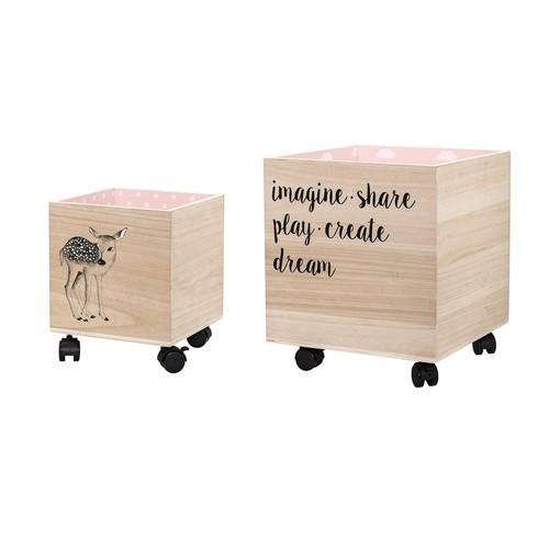 Set cajas Box Rosa