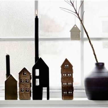 Candelabro House madera