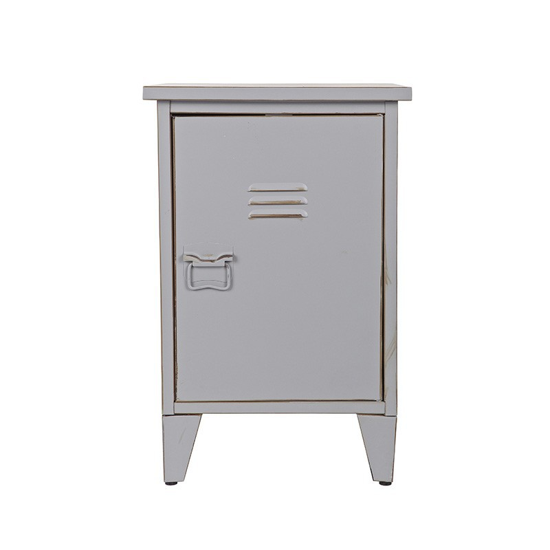 Mesita noche New Locker, gris