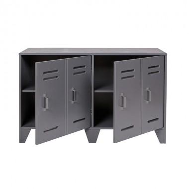 Mueble bajo New Locker, gris