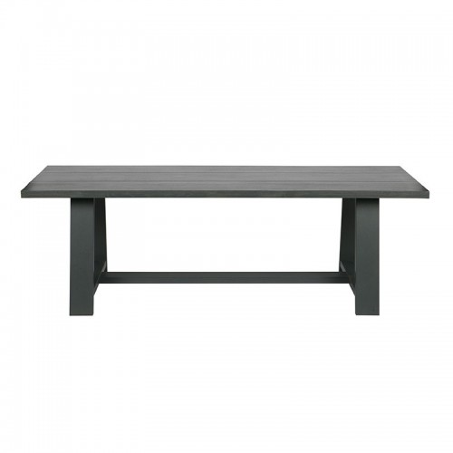 Mesa Square, gris oscuro 230 x 90cm