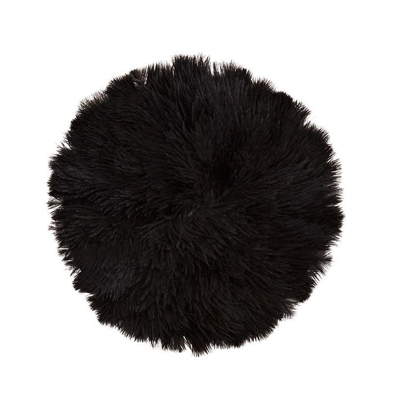 Tapiz Feather M, negro