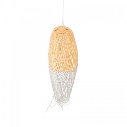 Lámpara de techo Kisa, bambú