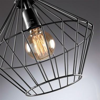 Lámpara techo Rhombus, cobre