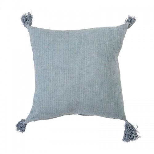 Cojín Linn azul, 50x50cm
