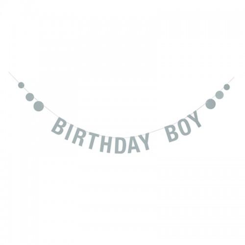 Guirnalda Cumpleaños, Boy