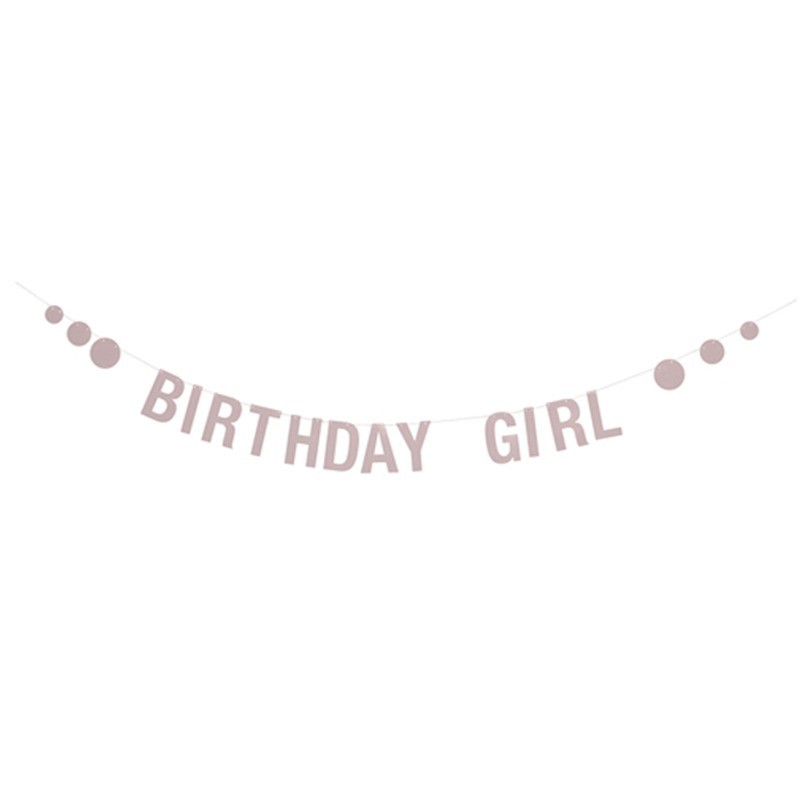 Guirnalda Cumpleaños, Girl