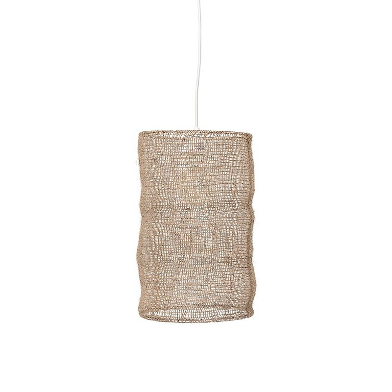 Lámpara de techo Sylt, yute