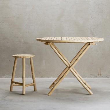 Mesa comedor Kiel, bambú