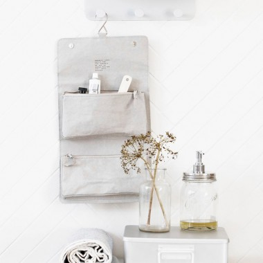 Organizador baño Nomadic, gris