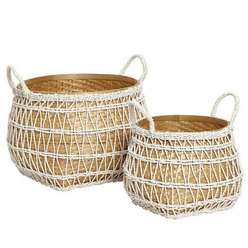 Set cestas, Handmade