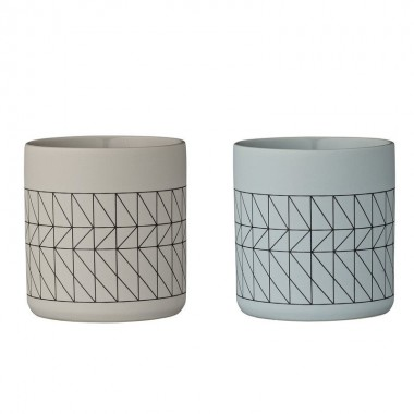 Set vasos Carina Two