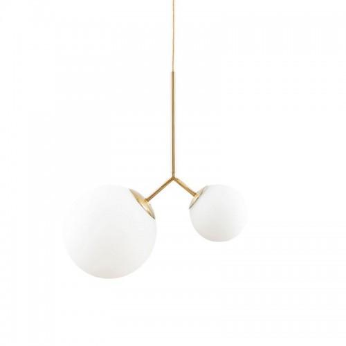 Lámpara Twice, blanco