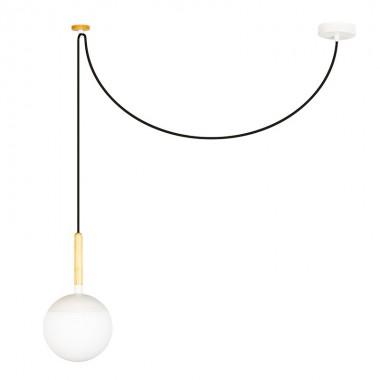 Lámpara Minos, blanco