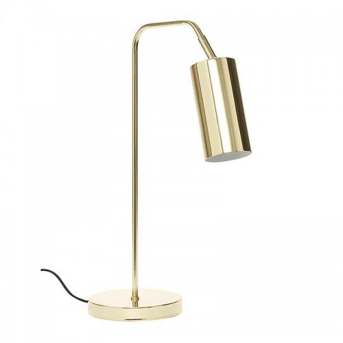 Lámpara de sobremesa, Brass