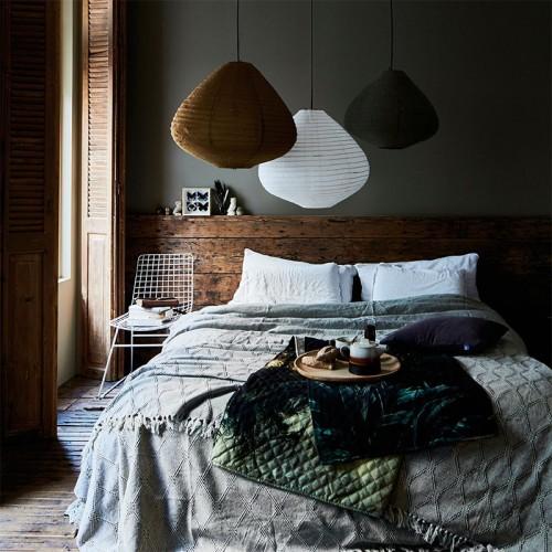 Lámpara de techo Siros blanco, S