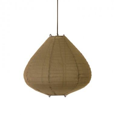 Lámpara Siros marrón, S