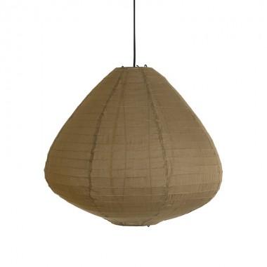 Lámpara Siros marrón, M