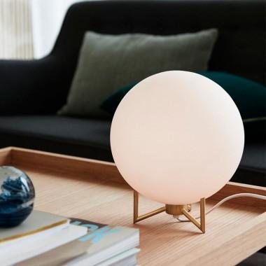 Lámpara Bola, blanco
