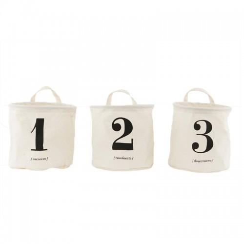 Set cestas, Number