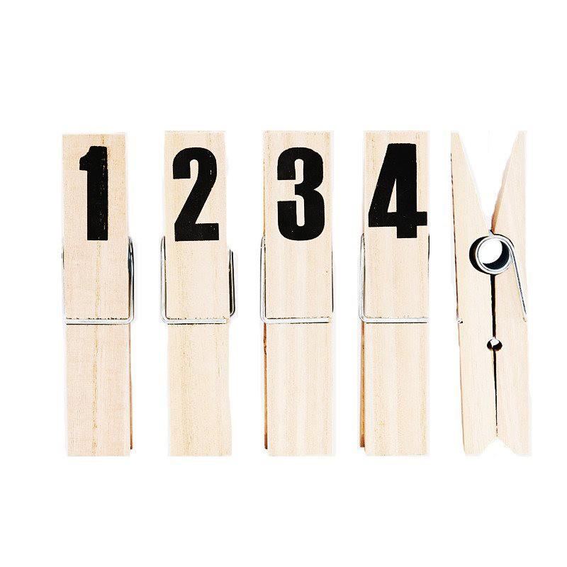 Set clip Number